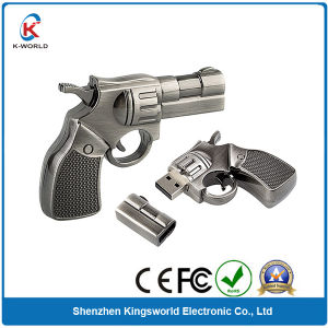 OEM Metal Gun USB Flash Drive pictures & photos