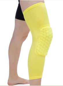 Custom Athletic Crossfit Knee Compression Sleeve Support pictures & photos