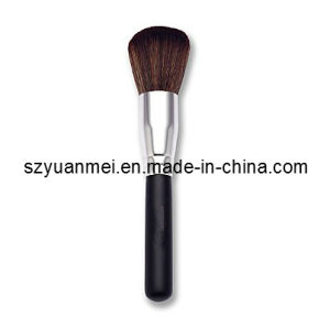 Makeup Powder Brush with Wooden Handle (YMF374)