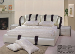 Furniture, Bed, Leather Bed 2939#