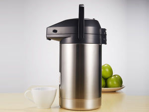 High Quality Stainless Steel Double Wall Vacuum Airpot pictures & photos