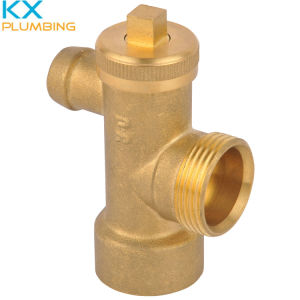 Brass Drain Cock for Solar Water Heater pictures & photos