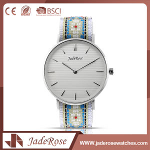 Simple Couple Stainless Steel Quartz Ladies Watch pictures & photos