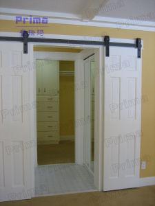 Modern Design Solid Wood Barn Door Hardware pictures & photos
