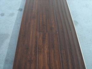 Hand Scraped Bamboo Flooring(Black Walnut) (BZ-HSW001)