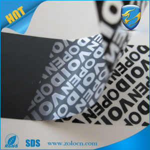 Custom Printed Tamper Proof Warranty Void Labels for Security Sealing