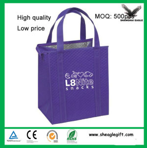 Custom 6 Pack Non Woven Insulated Thermal Lunch Cooler Bag Wholesale China Manufacture pictures & photos