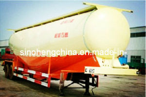 40m3 Powder Material Tanker Trailer Truck 4 Axles pictures & photos