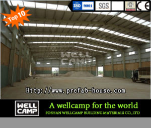 Qatar Project Widely Used Steel Structure for Warehouse/Workshop pictures & photos