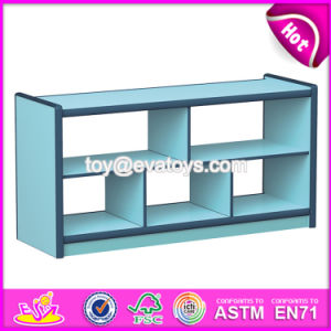 Customize Colorful Children Small Wooden Bookcase W08c192 pictures & photos
