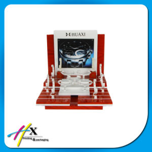 Custom Branded Luxury Wooden Acrylic Display Watch Exhibition Stand pictures & photos