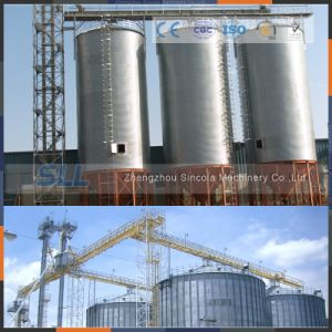 Bolted / Assembly Galvanized Corrugatd Bulk Feed Steel Silo for Sale pictures & photos