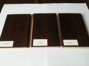 Stained Bamboo Flooring (Black Walnut or Chocolate) pictures & photos