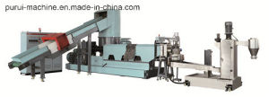 High Efficiency Recycle Machine for Pelletizing Granulating Extruding