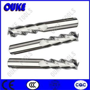 Tungsten Carbide 3 Flutes Milling Cutter for Aluminum HRC50 pictures & photos