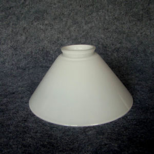 Triplex Hand Blown Glass Lamp Shade (B195)