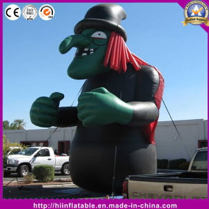 Hot Standing Model Inflatable Witch for Halloween Decoration pictures & photos