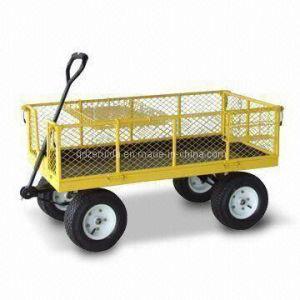 High Grade Steel Meshed Garden Cart (TC4205E) pictures & photos