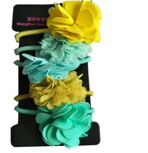 Beautiful Flowers High Quality Ponytail Holders pictures & photos