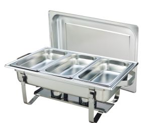 9L Economic Stainless Steel Chafing Dish (CD003) pictures & photos