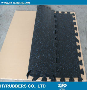 New Interlocking Rubber Tiles Made of Rubber 100% Recycled pictures & photos