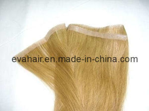 100% Indian Remy Human Hair Skin Weft pictures & photos