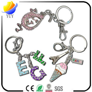 Lovely Different Shapes of The Metal Zinc Alloy Key Rings pictures & photos