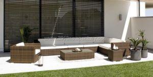 Outdoor / Garden / Patio / Rattan Sofa (NC6082)