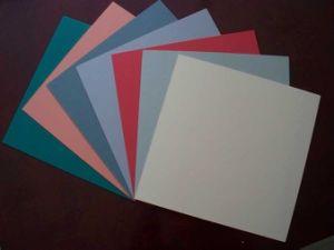 Plain PVC Floor Tiles 600*600*2.0mm pictures & photos