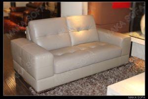 Genuine Leather Sofa (HD-242)