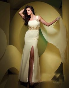 One Shoulder Evening Dres Ev233