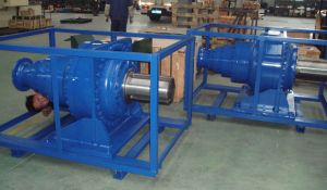 Foot Mounted High Torque Planetary Gearbox pictures & photos