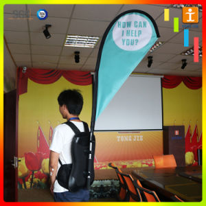 Advertising Promotion Street Display Flag Backpack Banner pictures & photos