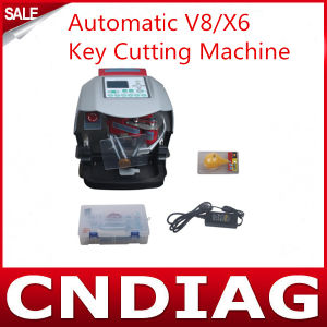 Car Key Cutting Machine for 2014 Newest Automatic V8/X6 Key Cutting Machine