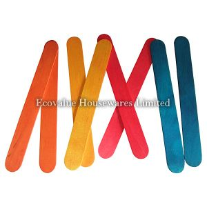 Colored Wooden Tongue Depressor pictures & photos