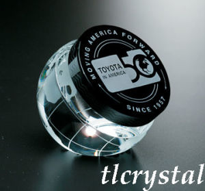 Crystal Round Paperweight (TL09080607)