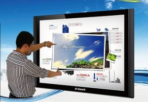 "Wireless 82"" Interactive Whiteboard-Interactive White Board"