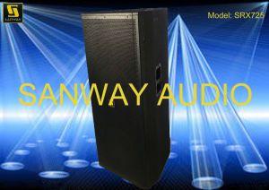 Srx725 Dual 15′′ Top Speaker Sound Box, Acoustic Audio Speaker pictures & photos