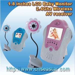 1.5/1.8 Inches LCD 2.4GHz Wireless Baby Monitor (S-318H)
