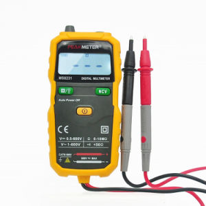 Mini Autoranging Multimeter with Ncv and Flash Light Ms8231