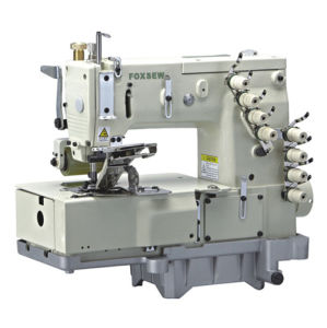 4-Needle Flat-Bed Double Chain Stitch Sewing Machine pictures & photos