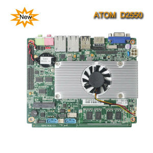 WiFi Motherboard Adopt Atom D2550 New Technology Support 24bit LVDS pictures & photos