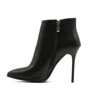 Custom Design Big Sizes Ladies Ankle Boots Fashion Women Shoes pictures & photos