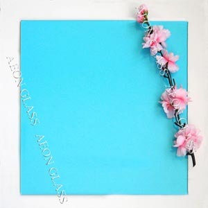 CE Certificate 4mm, 5mm, 5.5mm, 6mm, 8mm, 10mm Ocean Blue Tinted Float Glass pictures & photos