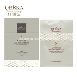 Best Cosmetic QBEKA Pearl Whitening Moisturizing Facial Silk Mask pictures & photos