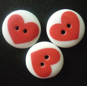 China Factory Metal and Resin Combine Button pictures & photos
