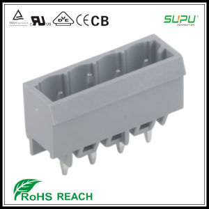 450 458 Headers Socket Terminal Blocks with Solder Pin 1.2*1.2mm Preceding Ground Contact pictures & photos