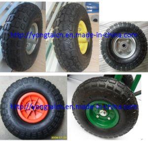 """Wheelbarrow Pneumatic Wheel 10""""*3.50-4 pictures & photos"""