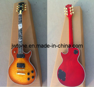 Jw-Tt068 Abalone Flower Inlay Quality Electric Guitar pictures & photos