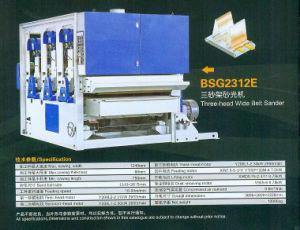 Three - Head Wide Belt Sander (BSG2312E) pictures & photos